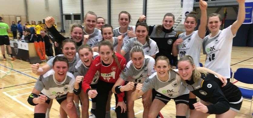 Presse: Perfekter Start in die WM-Qualifikation für DHB-Juniorinnen mit Nina Reißberg