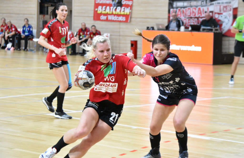 Presse: Halle-Neustadt schlägt sich gegen Metzingen achtbar