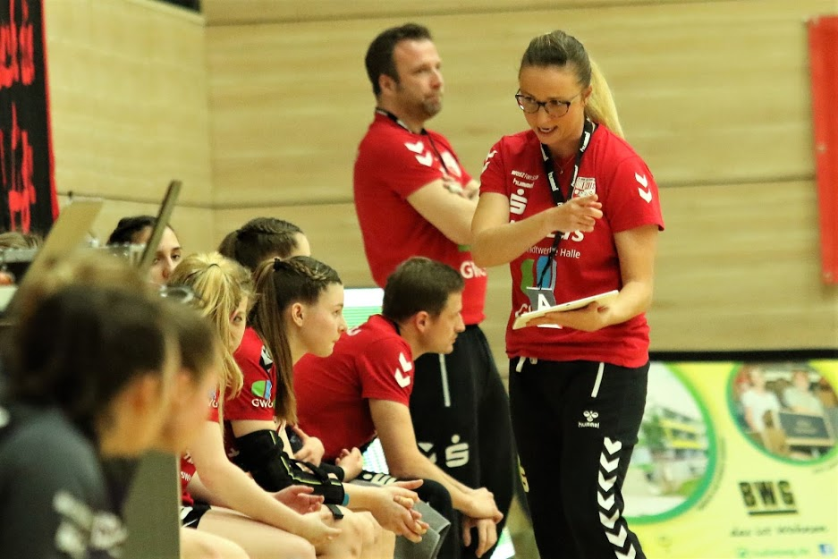 """Juniorteam: """"Bei mir gibt es den Vorgeschmack für die 1. Bundesliga"""" – Martyna Rupp trainiert Juniorteam"""